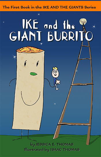 Ike and the Giant Burrito Cover